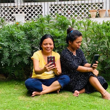 The Tamang sisters