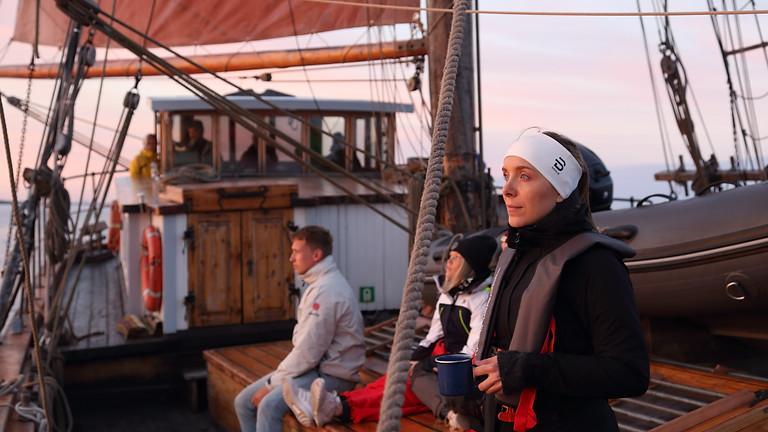 Helsinki-Porvoo purjehdus perinnepurjelaiva Valborgilla