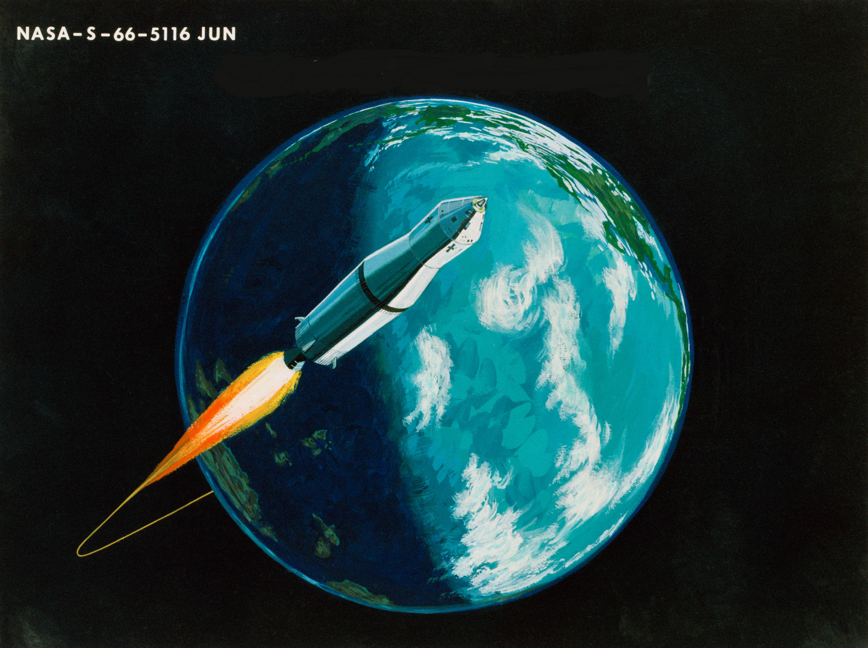 Take off earth
