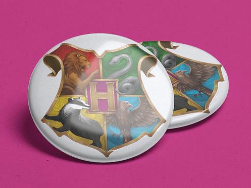 Harry Potter Hogwarts Crest Pin