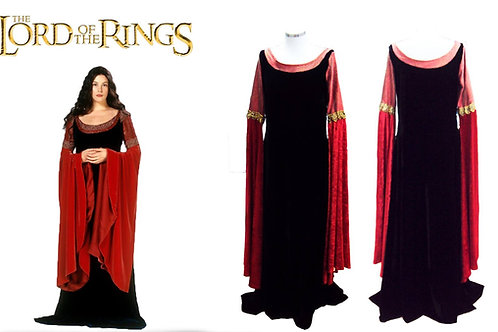 Lord of the Rings Arwen Dress Cosplay