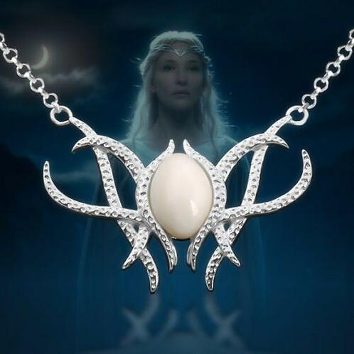 The Hobbit Galadriel Fairy Queen Leecos Necklace