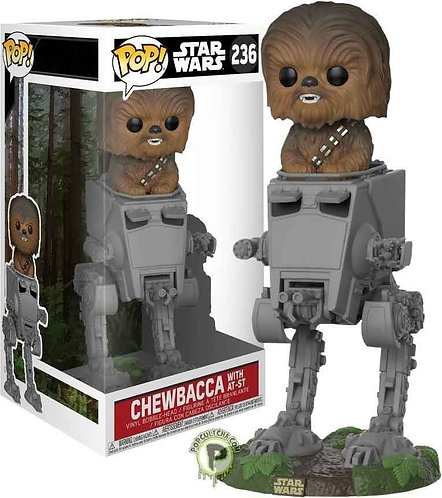 Deluxe: Star Wars Pop! Chewbacca in AT-ST