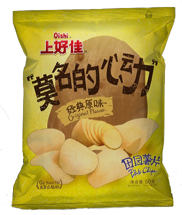 Oishi Garden Potato Chips Original Flavor