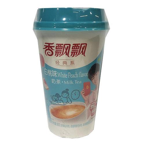 White Peach Flavor Milk Tea