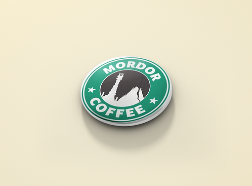 Lord of the Rings inpired Mordor Coffee Pin