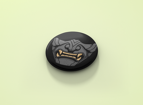 Ghost of Tsuchima Mask Pin