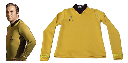 Star Trek Captain Kirk Cosplay