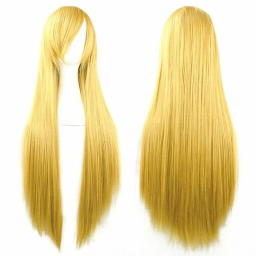 Long Straight Blonde 60cm Wig