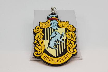 Harry Potter Hufflepuff Rubber Keychain