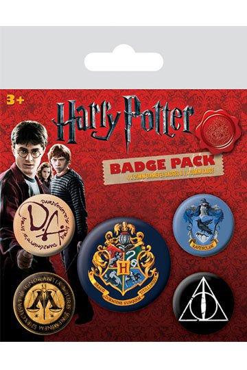 Harry Potter Pin Badges 5-Pack Hogwarts