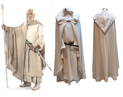 Lord of the Rings - Gandalf the White Cosplay