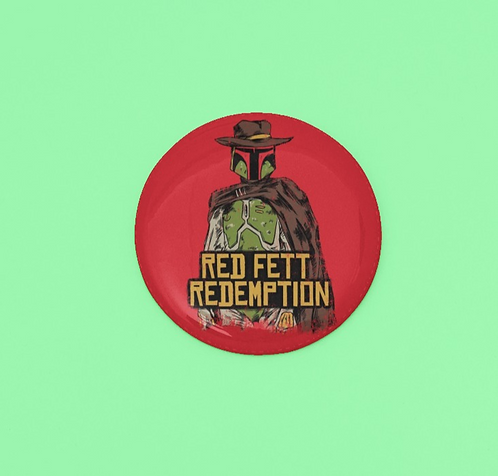 Red Dead Redemption Inspired Boba Fett Pin