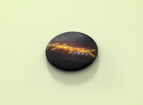 Cyberpunk 2077 Logo Pin