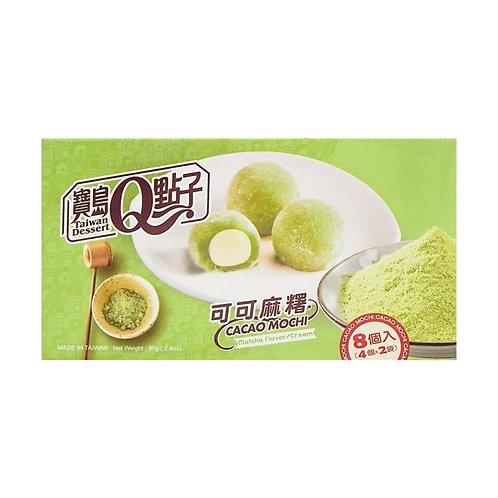 Taiwan Dessert Mochi Matcha Flavor