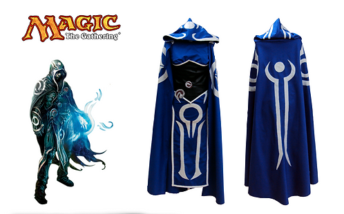 Magic The Gathering Jace (Female Version) Cosplay