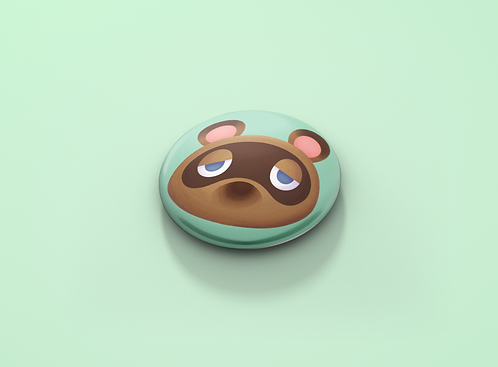 Animal Crossing Tom Nook Pin