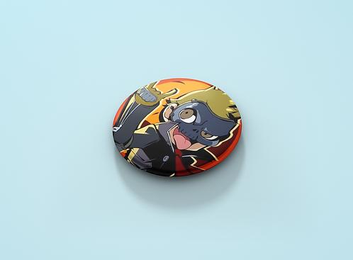Persona 5 Skull Pin