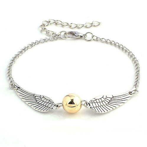Harry Potter Golden Snitch Bracelet