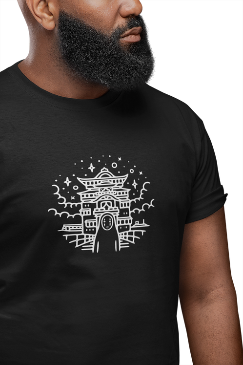 Spirited Away No Face and Yubaba's Bathhouse T-Shirt