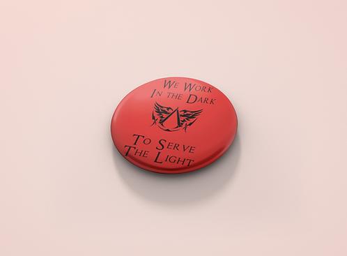 Assassins's Creed Brotherhood Slogan Pin