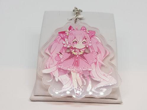 Vocaloid Hatsune Miku Sakura Keychain