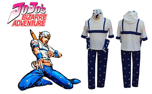 Jojo's Bizarre Adventure Johnny Joestar Cosplay