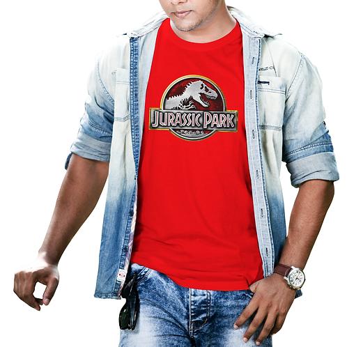 Jurassic Park 3D Logo T-Shirt
