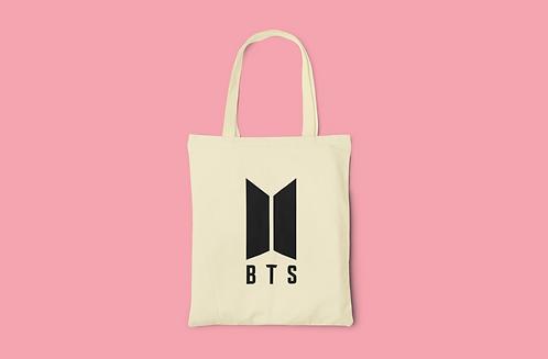 K-POP BTS Logo Tote Bag #2