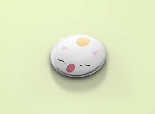 Final Fantasy Moogle Pin