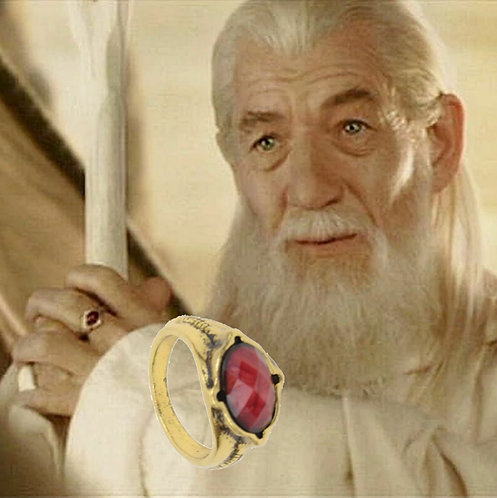Lord of the Rings Narya (Ring of Fire)