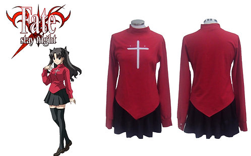 Fate/Stay Night Rin Cosplay