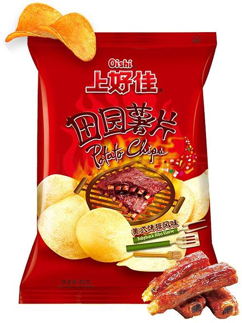 Babyback Ribs Flavor Potato Chips