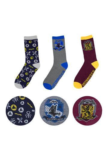 Harry Potter Socks 3-Pack Golden Snitch