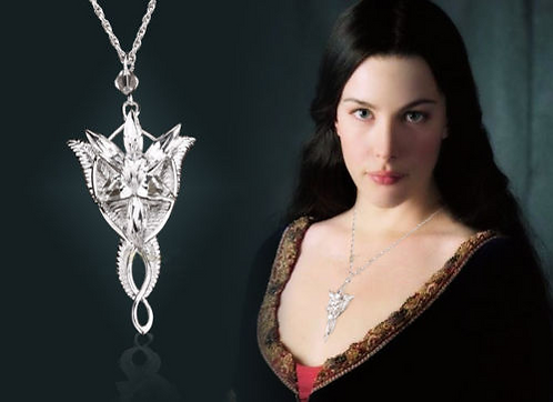 Lord of the Rings Pendant Arwen´s Evenstar Necklace