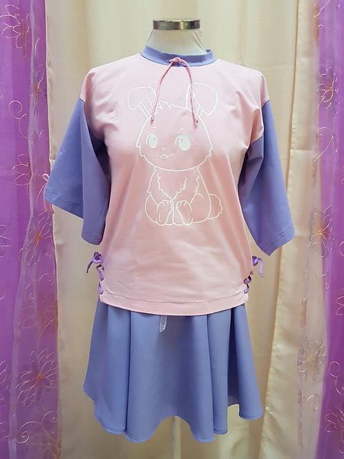 Kawaii Pink and Purple Bunny Set