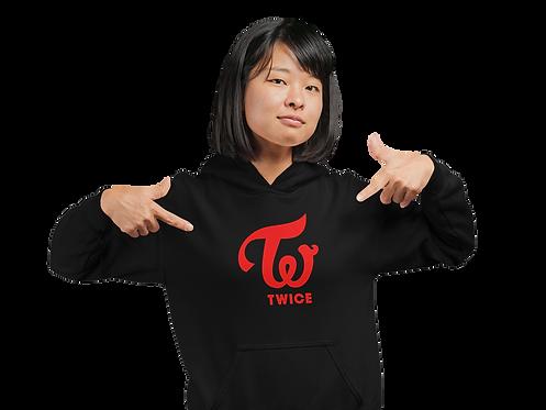 K-Pop Twice Logo Hoodie