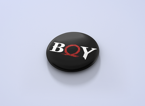 God of War Boy Pin