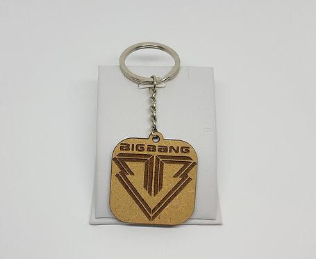 K-POP BIGBANG Logo Keychain