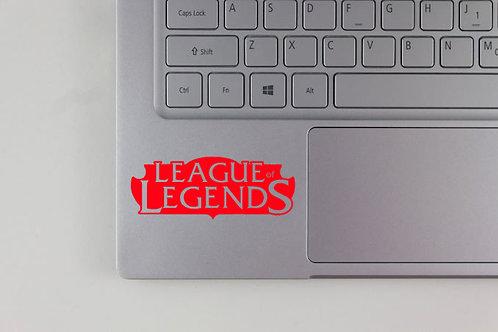 League of Legends Logo Decal
