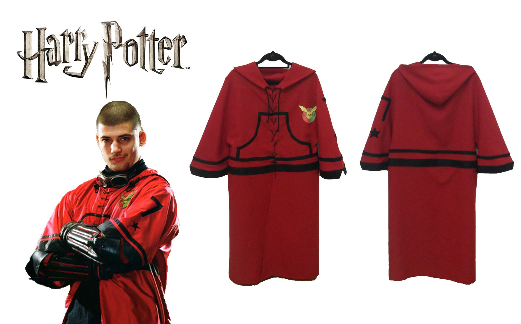 Harry Potter Viktor Krum Quidditch Bulgarian Team Jersey Cosplay Altercos , add yourself to the poll by making yourself one of your favorites. harry potter viktor krum quidditch bulgarian team jersey cosplay altercos