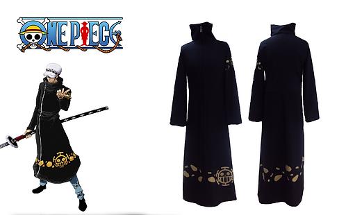 One Piece Trafalgar Law Coat Cosplay