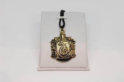 Harry Potter Slytherin House Crest Necklace #2