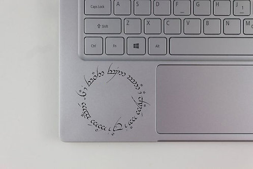 Lord of the Rings The One Ring Inscritions Decal
