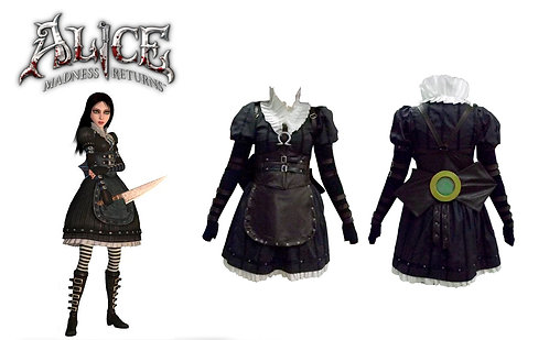 Alice Madness Returns - Alice Steam Dress
