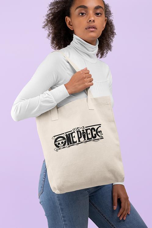 One Piece Logo Tote Bag