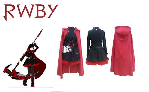 RWBY Ruby Rose Cosplay