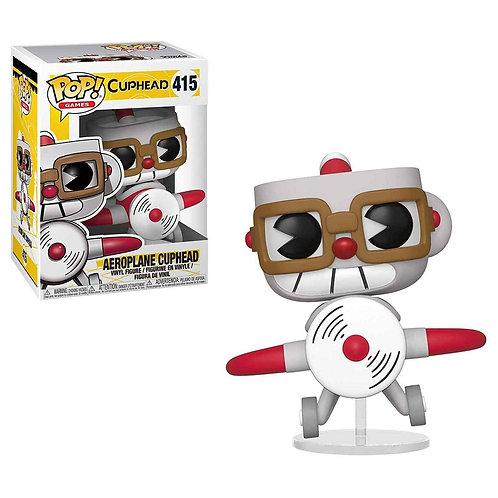 Cuphead POP! Games Vinyl Figure Aeroplane Cuphead