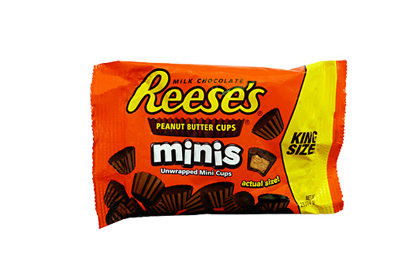 Reese's Mini Peanut Butter Cups (king size bag)