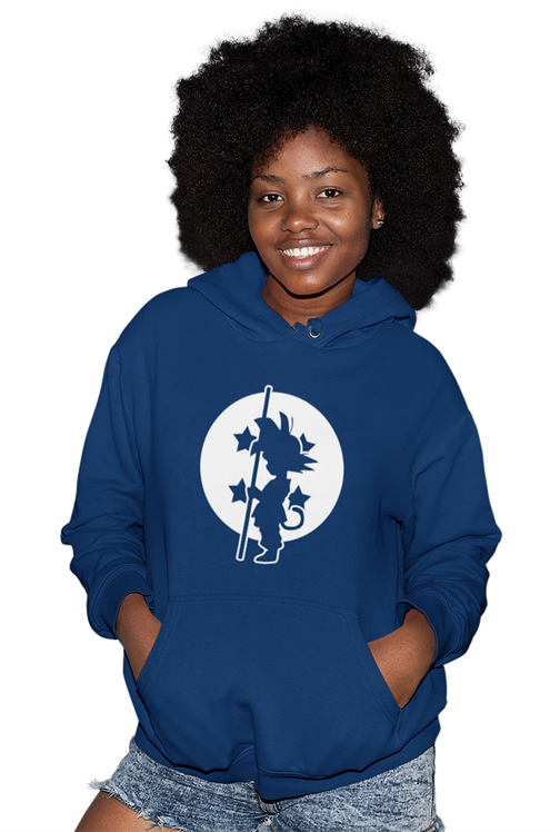 Dragon Ball Kid Son Goku 4-Star Dragon Ball Silhouette Hoodie